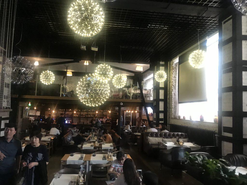 ウラジオストク レストラン