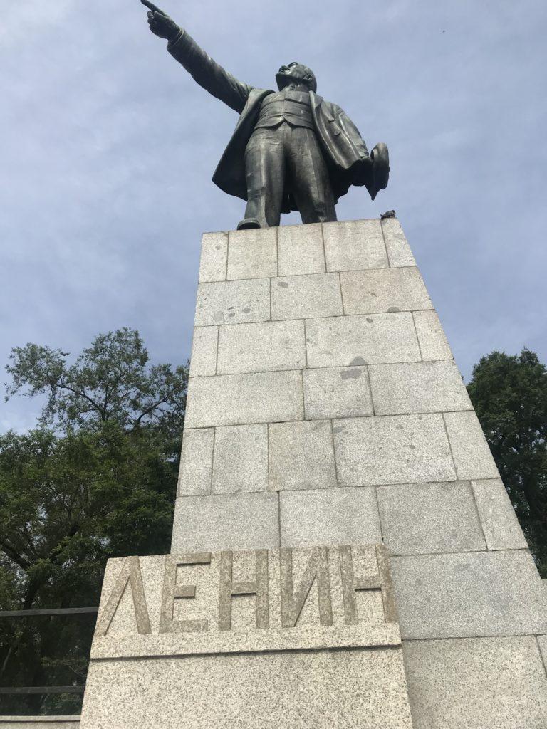 レーニン像広場
