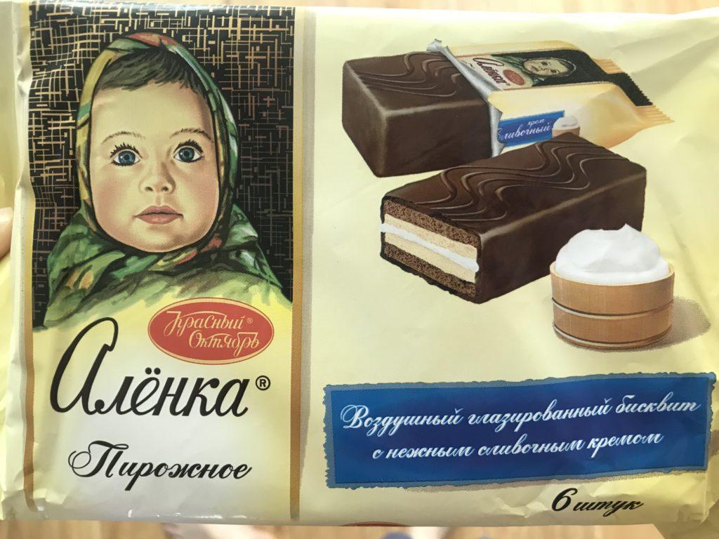 ロシア チョコ