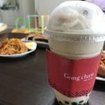 GONG CHA(貢茶)を韓国ソウルで飲む