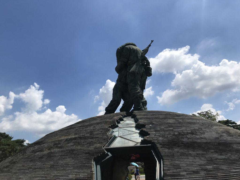 戦争記念館 モニュメント