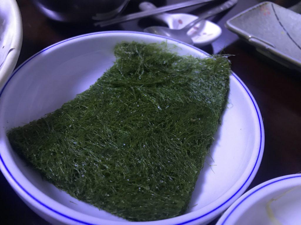 ジンミ食堂 海苔