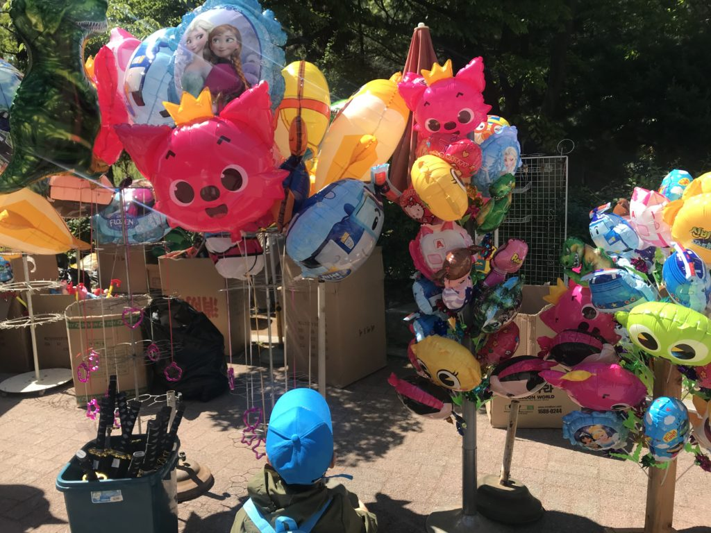 オリニ大公園 風船