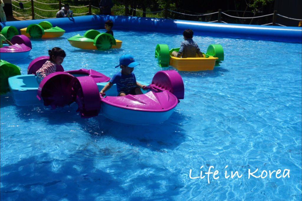 オリニ大公園 水遊び