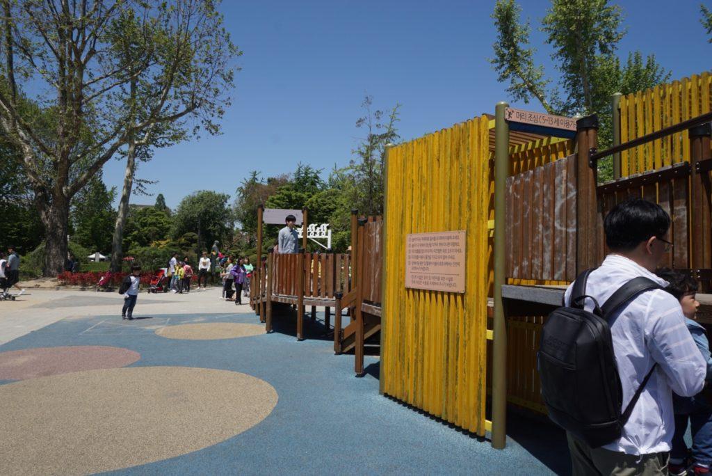 オリニ大公園 遊具スペース